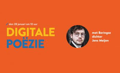 Digitale poëzie tijdens de Gedichtendag op donderdag 28 januari!